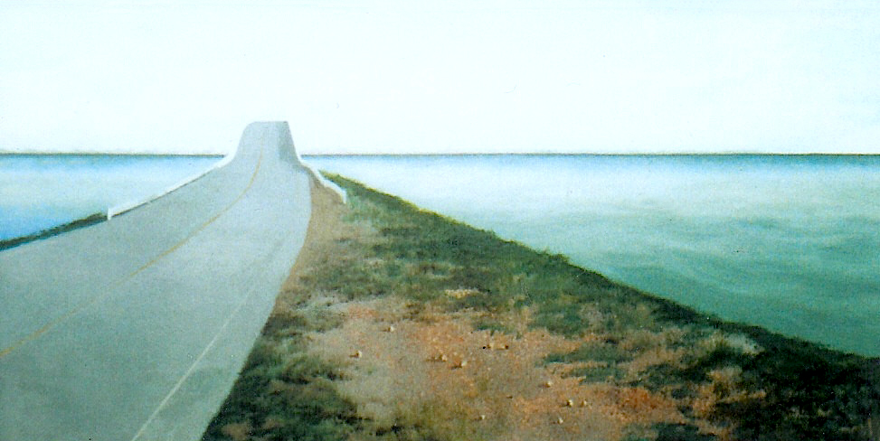 Causeway, 1994, acrylic on canvas, 24