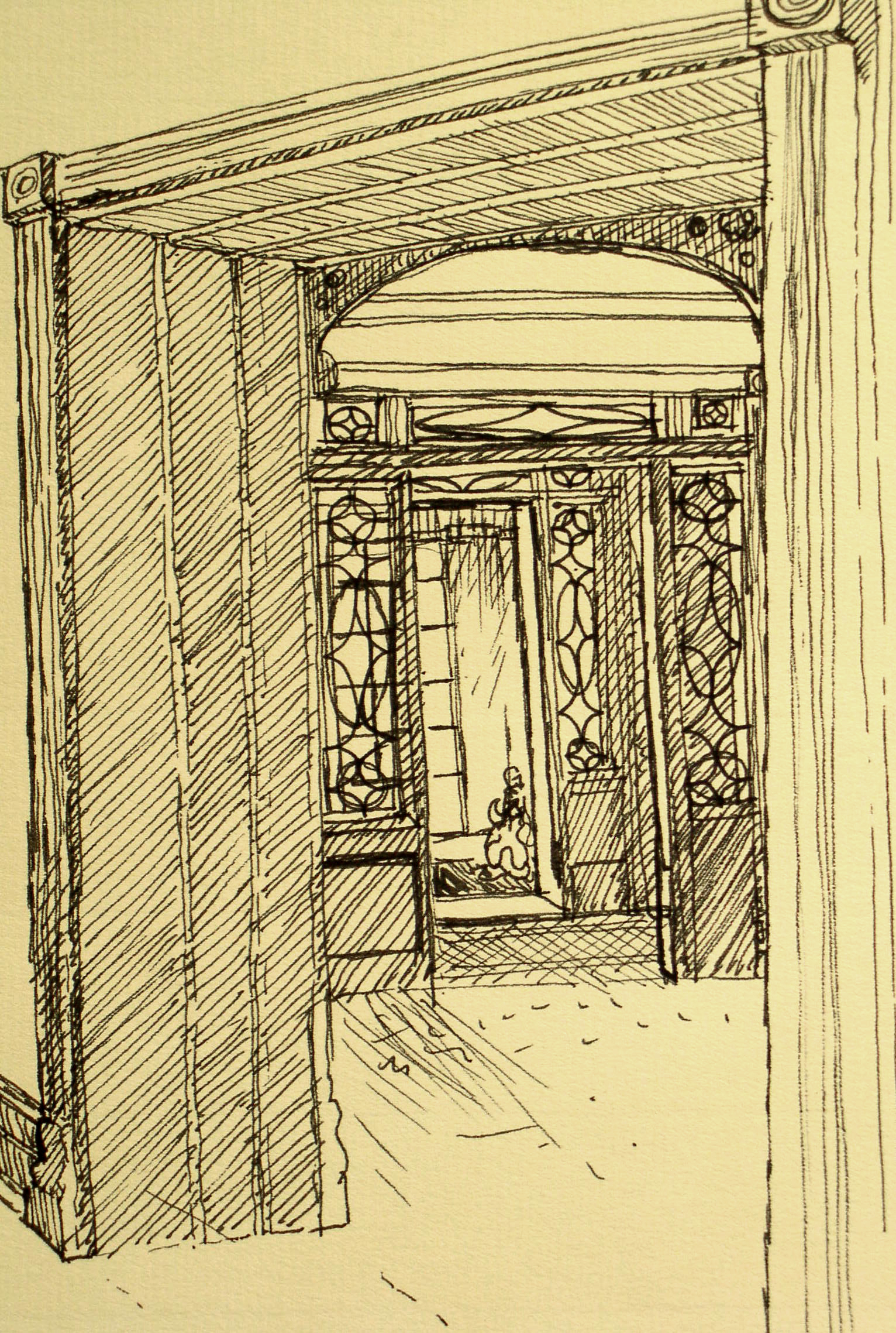 Symphony Entryway Drawing