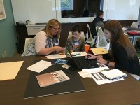 Interior design students help 6th grader