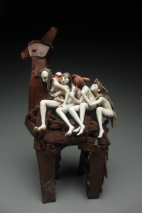 Image of Suzie Molnar's Ceramic Scuplture
